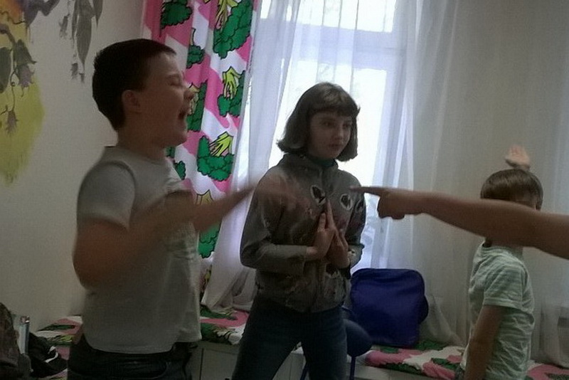 """Викторина """"Мы команда"""" в городском летнем лагере """"Остров детства на Таганке"""" в Москве"""